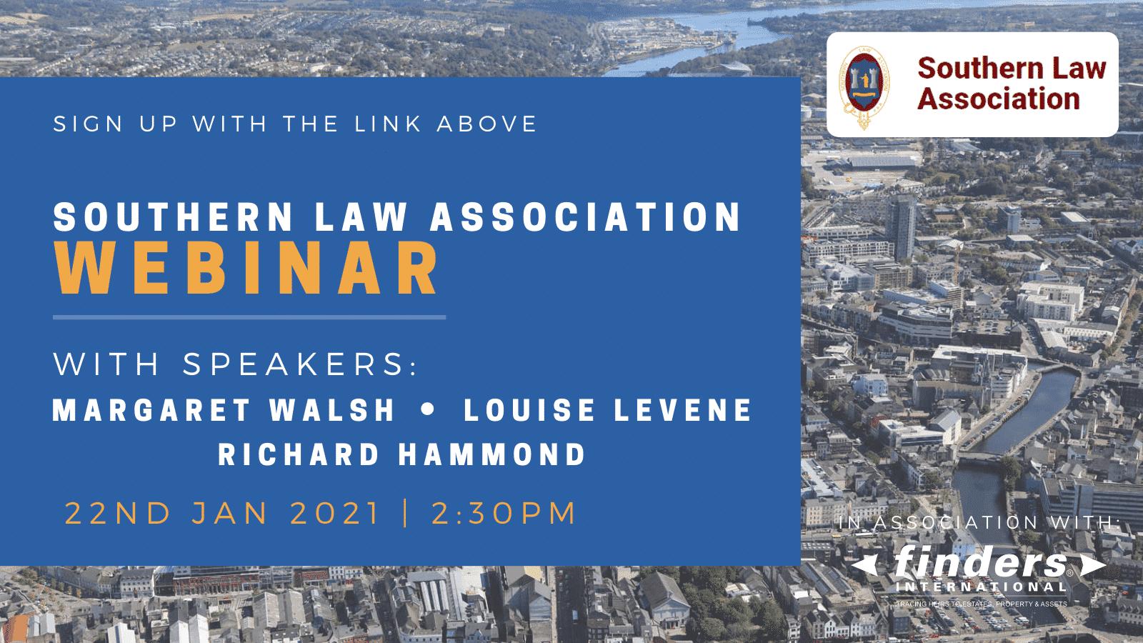 Southern Law Association Webinar